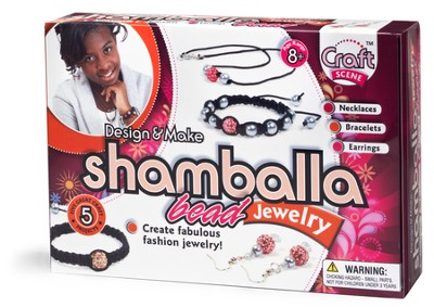 Shamballa Bead Jewelry Kit  -