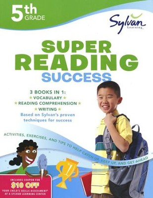 Fifth Grade Super Reading Success (Sylvan Super Workbooks)  -     By: Sylvan Learning