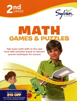Math Games & Puzzles Workbook: Second Grade  -     By: Sylvan Learning