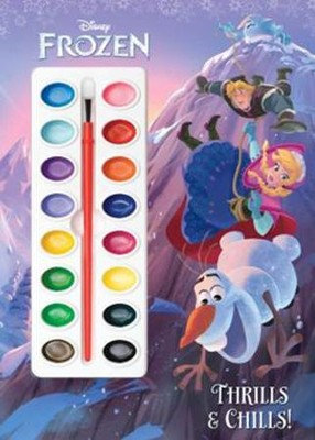 Frozen - Deluxe Paint Box Book  -     By: Courtney Carbone