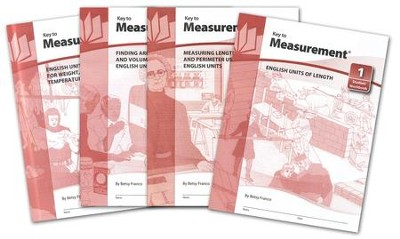 Key To Measurement Books 1-4    -
