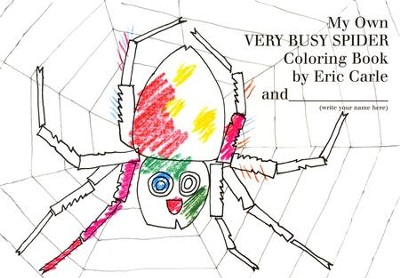 My Own Very Busy Spider Coloring Book  -     By: Eric Carle