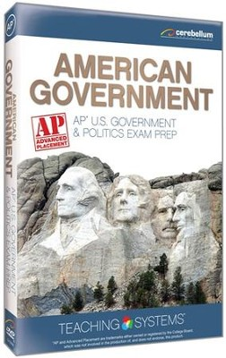 AP U.S. Government & Politics Exam Prep 2 DVDs  -