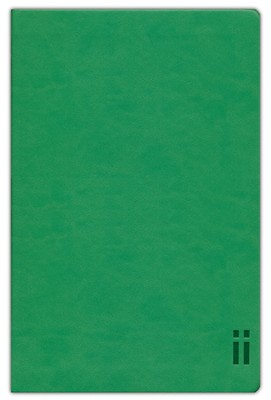 NIV Skinii Bible, Italian Duo-Tone, Green  -
