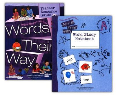 Words Their Way Level A 1st Grade Homeschool Bundle  -