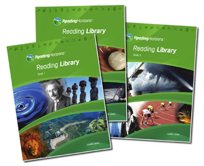 Reading Horizons Reading Library, Volumes 1-3 (Home Use Only   Edition)  -     By: HEC Software Inc.