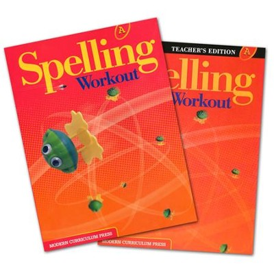 Modern Curriculum Press Spelling Workout Grade 1 Homeschool Bundle  -
