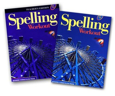 Modern Curriculum Press Spelling Workout Grade 7 Homeschool Bundle (2002 Edition)  -