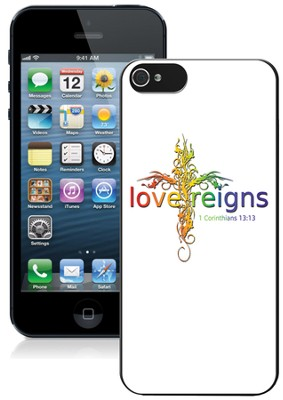 Love Reigns Cross iPhone 5 Case, Multi  -