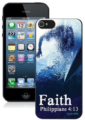 Faith Surfer iPhone 5 Case  -