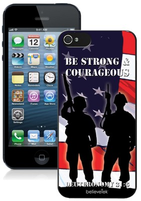 Strong and Courageous iPhone 5 Case  -