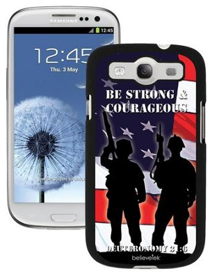 Strong and Courageous Galaxy 3 Case  -