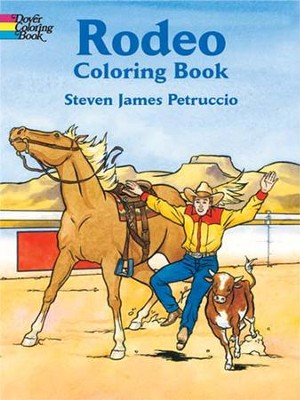 Rodeo Coloring Book  -     By: Steven James Petruccio