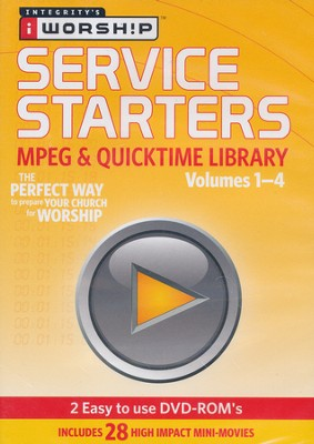 iWorship Service Starters MPEG and Quicktime Library   -