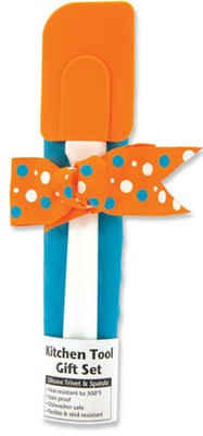 Kitchen Tool Gift Set, Orange and Blue   -
