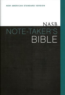 NASB Note-Taker's Bible, Hardcover  -