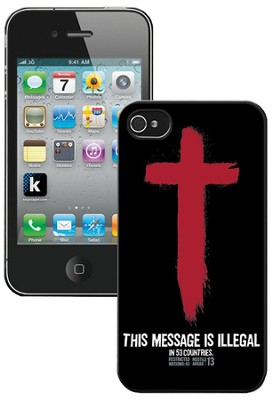 Illegal iPhone 4 Case  -