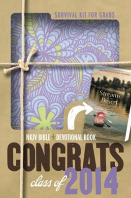NKJV 2014 Survival Kit for Grads for Gals  - Imperfectly Imprinted Bibles  -     By: Zondervan