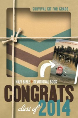 NKJV 2014 Survival Kit for Grads for Guys  -