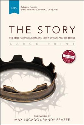 The Story, NIV, Large Print Hardcover   -