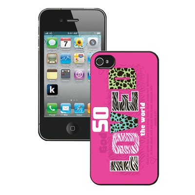 So Loved, iPhone 5 Case, Pink  -