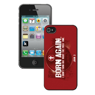 Born Again, iPhone 5 Case, Red  -