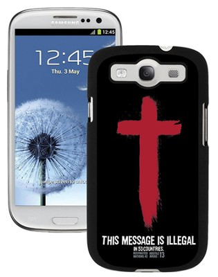 Illegal Sansung Galaxy 3 Case  -