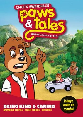 Chuck Swindoll's Paws & Tales Biblical Wisdom for Kids: # 8 Being Kind and Caring, DVD  -