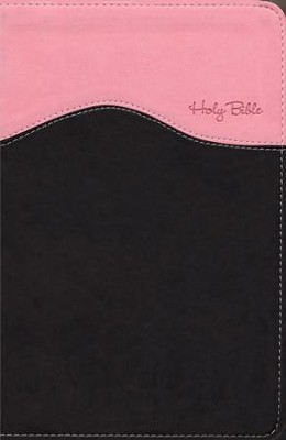 NIV Gift Bible, Pink/Chocolate Duo-Tone  -