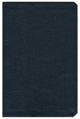 NIV Life Application Study Bible, Top Grain Leather Black - Slightly Imperfect  -