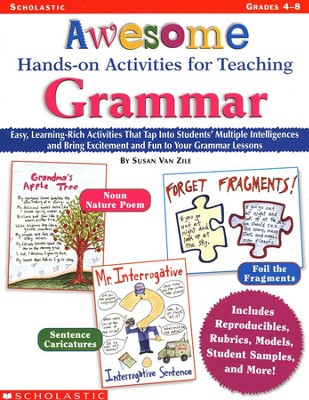 Awesome Hands-On Activities For Teaching Grammar  -