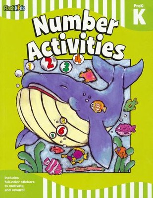 Number Activities: Grade Pre-K-K  -