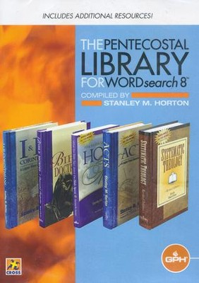 Pentecostal Library CDROM (WORDsearch 8 Version)  -     By: Stanley Horton