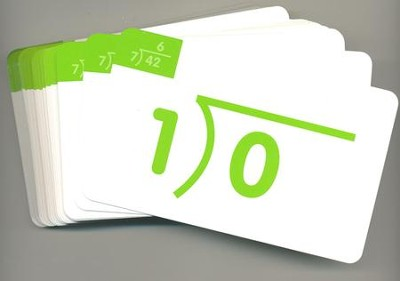 Division, Flash Cards  -