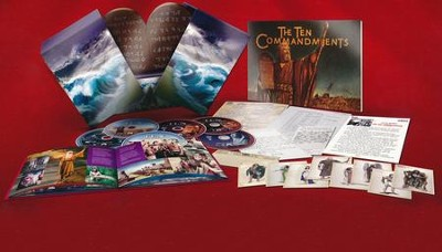 The Ten Commandments: 55th Anniversary Limited Edition,  6-Disc Blu-ray & DVD Combo Set  -