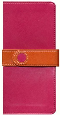 NIV Trimline Bible, Bright Pink/Orange Duo-Tone  -