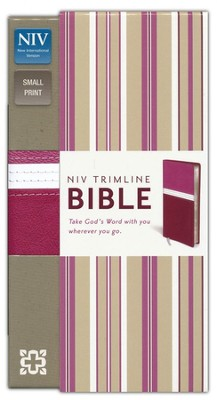 NIV Trimline Bible, Orchid/Razzleberry Duo-Tone  -