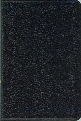 NIV Compact Thinline Bible, Black - Imperfectly Imprinted Bibles  -