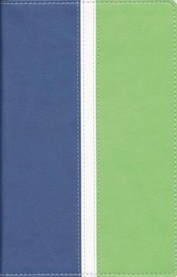 NIV Busy Mom's Bible, Blue/Sea Green Duo-Tone - Imperfectly Imprinted Bibles  -