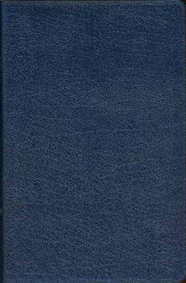 NIV Thinline Bible, Navy - Imperfectly Imprinted Bibles  -