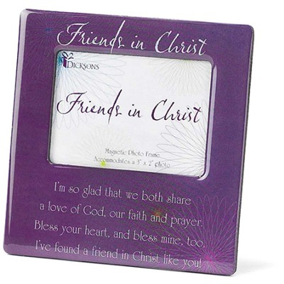 Friends in Christ Magnetic Photo Frame  -