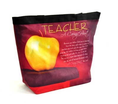 Teacher, A Caring Heart Tote  -