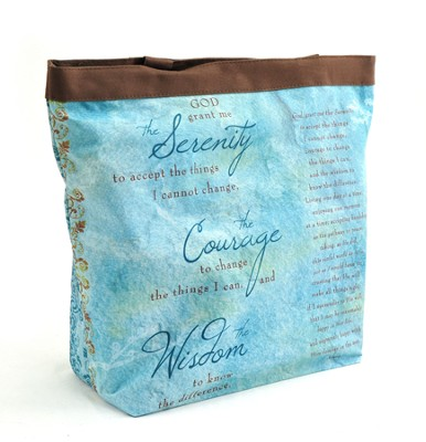 Serenity Prayer Tote  -