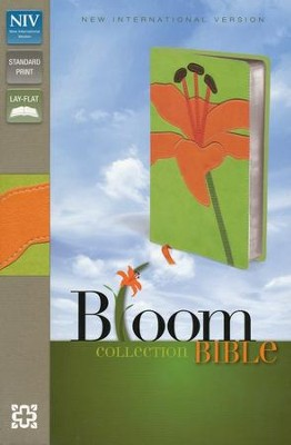 NIV Thinline, Bloom Collection, Tiger Lily Duo-Tone  -