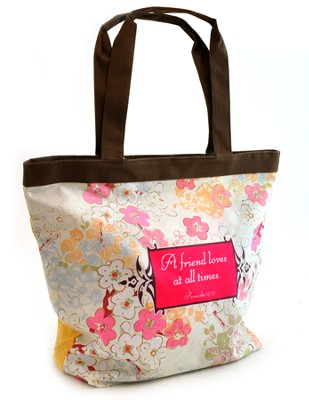 A Friend Loves at All Times Tote  -
