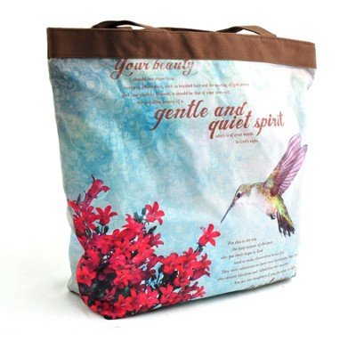 Gentle and Quiet Spirit Tote  -