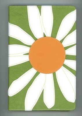 NIV Thinline Bible, Bloom Collection, Daisy Duo-Tone - Slightly Imperfect  -