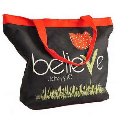 Believe Tote  -     By: Amylee Weeks