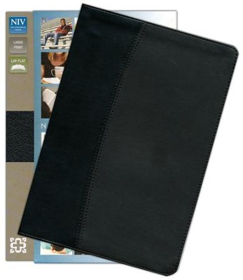 NIV Thinline Large-Print Bible  -