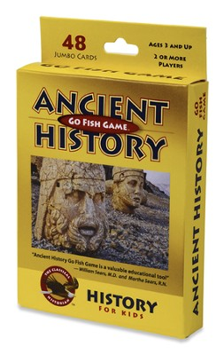Ancient History Go Fish Game   -